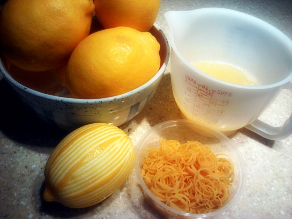 baking blog: 1 ~ lemon cake by ina garten (2/4)