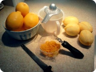 baking blog: 1 ~ lemon cake by ina garten (1/4)